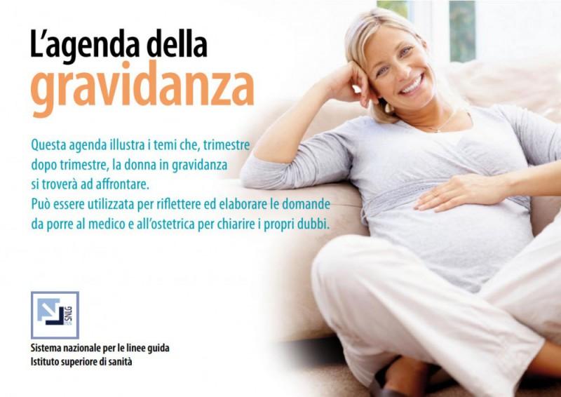 agenda gravidanza